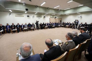 دیدار هیئت دولت با رهبری
