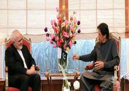 ظریف با عمران خان دیدار کرد/رایزنی درباره مرزبانان ربوده شده