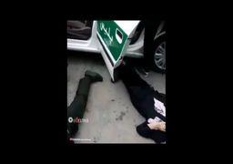 فیلم از شهادت دو مامور نیروی انتظامی توسط شوهر عصبانی