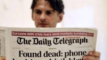 رسانه های چاپی جهان در آستانه مرگ ! +اینفوگرافی