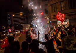 غرق تهران در صدای شیپور سرخ