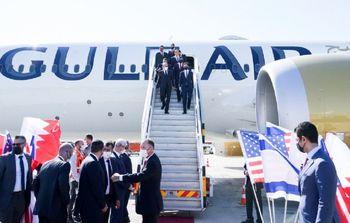 بیاعتنایی وزیر خارجه بحرین به رای مردم کشورش و ورود به تل آویو