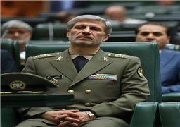 اظهارات وزیر دفاع در جلسه غیرعلنی
