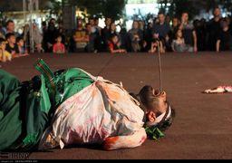 گزارش تصویری تعزیه در پیاده راه فرهنگی رشت