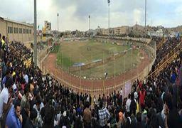 فوتبال در مسجد سلیمان خانوادگی شد+ عکس
