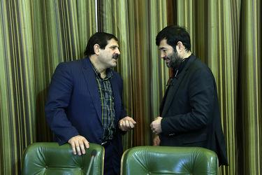 حضور شهردار تهران در شورای شهر
