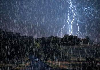باد شدید و باران فرداشب در تهران