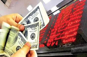 سایهِ سنگین دلار بر بورس امروز