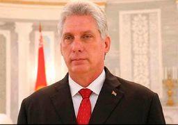 پیام رئیس جمهور کوبا به حسن روحانی