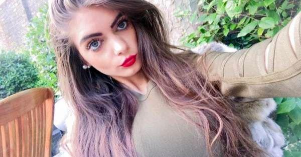 دختر زیبا انگلیسی