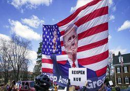 «شورش به فرمان رئیسجمهور»؛ هواداران ترامپ علیه فرمانداران ایالتی دموکرات به خیابان ریختند +عکسوفیلم