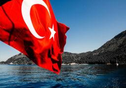 کشتی ترکیهای هدف حمله قرار گرفت +فیلم