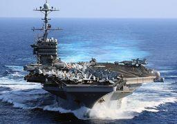 ناو هواپیمابر جورج بوش راهی خلیج فارس شد