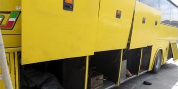 اتوبوس مسافربری با 80 کیلوتریاک توقیف شد