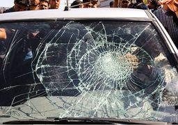 طغیان خشم پدر بنیتا هنگام بازسازی صحنه جرم + عکس