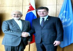 دیدار ظریف با رییس مجمع عمومی سازمان ملل+عکس
