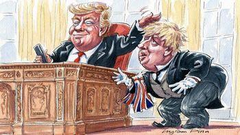 تقلید جانسون از ترامپ؛ تهدید خطرناک انگلیس