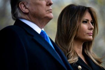 پیامهای متناقض همسر ترامپ در خصوص اعتراضات