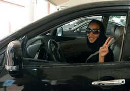 رانندگی زنان در عربستان آزاد شد + عکس