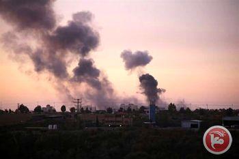 توپخانه رژیم صهیونیستی غزه را هدف گرفت