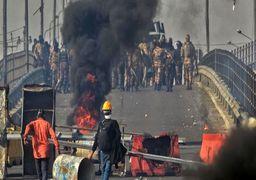 انسداد دو پل ارتباطی در شرق پایتخت توسط معترضان