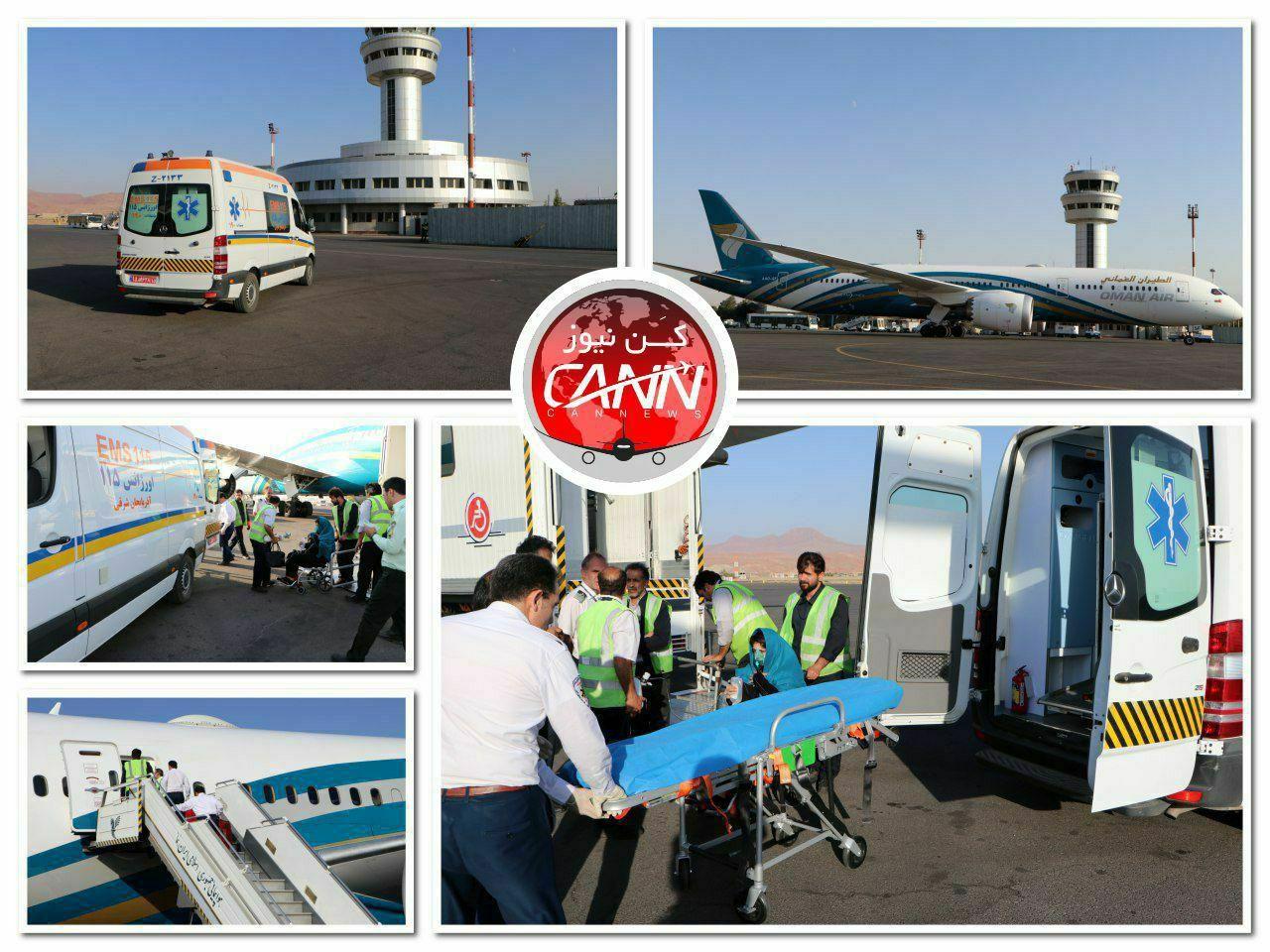 فرود اضطراری پرواز لندن-مسقط هواپیمایی عمان در تبریز