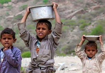 نیمی از مردم یمن در آستانه مرگ حاصل از گرسنگی هستند