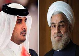 خشم روزنامه سعودی از تماس تلفنی امیر قطر با حسن روحانی