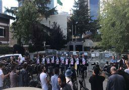 تجمع اعتراضی علیه ناپدید شدن روزنامه نگار منتقد سعودی در استانبول