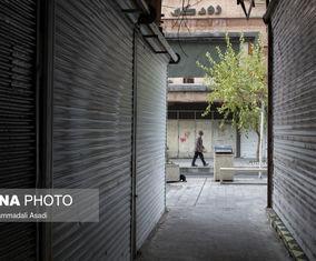 گزارش تصویری از حال و روز اینروزهای خیابانهای منوچهری، لالهزار و سپهسالا