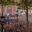 جشن قهرمانی تیم ملی فرانسه در پاریس +عکس