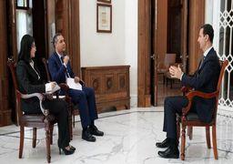 بشار اسد: قتل البغدادی سناریوی نمایشی امریکا بود/ روسیه سیاست مخفی پشت پرده ندارد