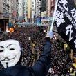 تظاهرات صدها هزار نفری در هنگکنگ با شعار «مبارزه برای آزادی»