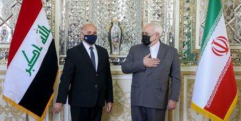 دیدار ظریف با همتای دیپلماتیک عراقی/ ترور سردار سلیمانی محور گفت و گوها