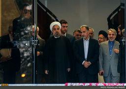 شهردار تهران پس از 14 سال در جلسه هیات دولت + عکس