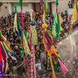 تصاویر برگزاری آیین « علم پیغمبر» در میناب