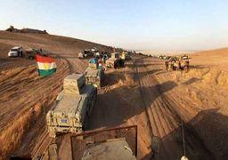 اعزام نیروهای کمکی پیشمرگه به کرکوک / درگیری پیشمرگهها و حشد الشعبی در 4 منطقه