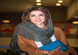 شوخی جالب و با مزه خانم بازیگر ایرانی با موهایش ! +عکس