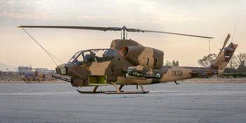 تصاویر جدیدترین هلیکوپترتهاجمی سپاه + جزئیات