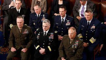 فرماندهان ارشد ارتش آمریکا: جو بایدن چهل و ششمین فرماندۀ کل قواست
