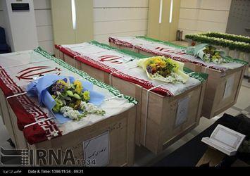 انتقال پیکر 3 قربانی حادثه نفتکش سانچی به کشور