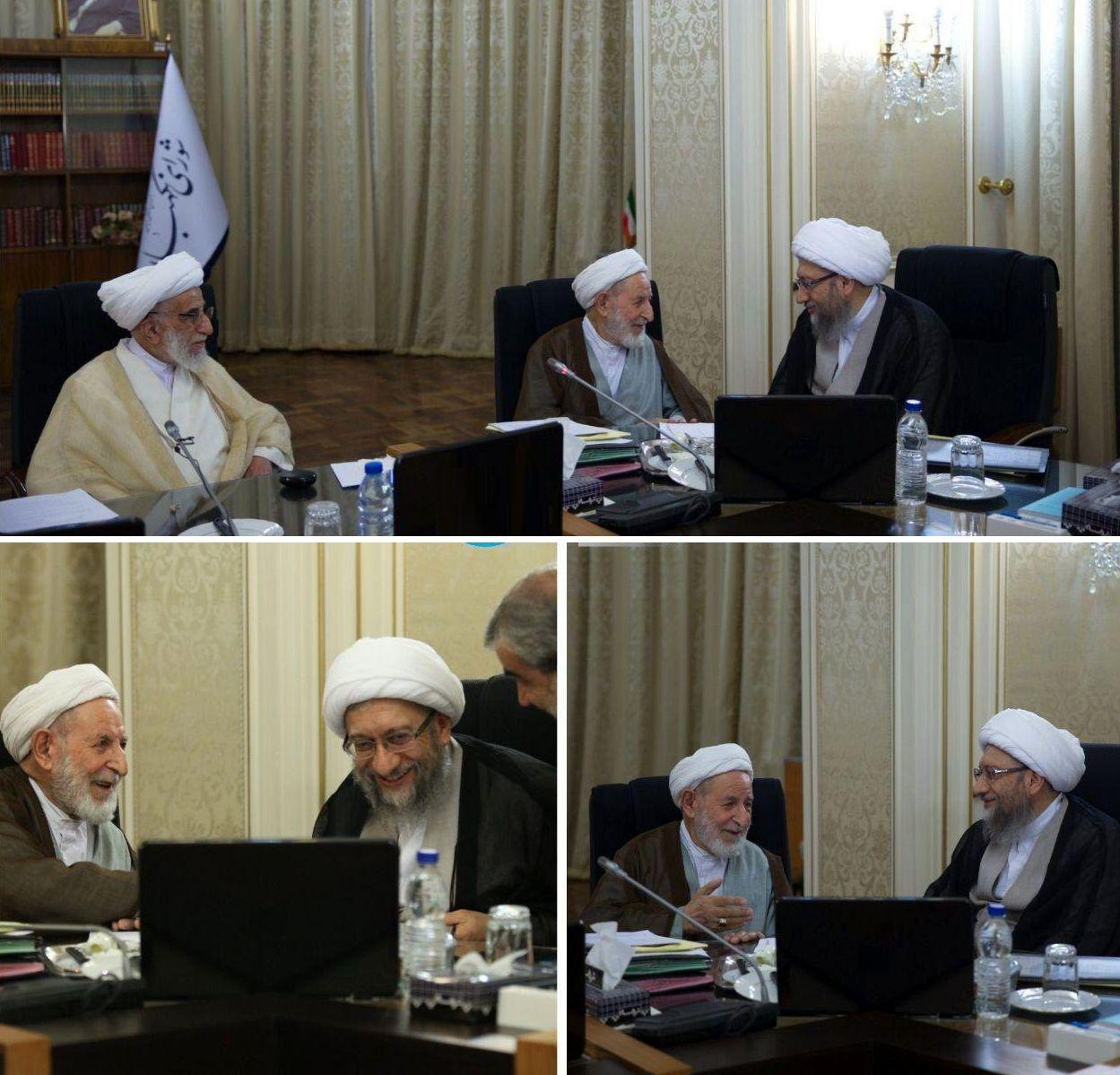 روایت سخنگوی شورای نگهبان از جلسه امروز با حضور یزدی و آملی لاریجانی