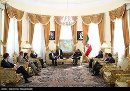 دیدار وزیر خارجه فرانسه با دبیر شورای عالی امنیت ملی