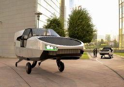 رونمایی از اولین خودروی پرنده جهان +تصاویر