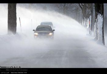 اخطاریه سازمان هواشناسی کشور درباره برف و یخبندان در ۸ استان