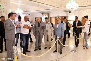 بازدید فرمانده گارد ساحلی قطر از بازار بزرگ ایران