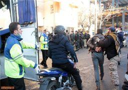 دستگیر شدگان آشوب دراویش به همراه آلات قتاله + عکس