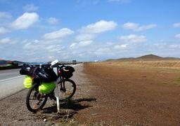 حمله سارقان به دوچرخهسوار گردشگر خارجی در شمال کشور!