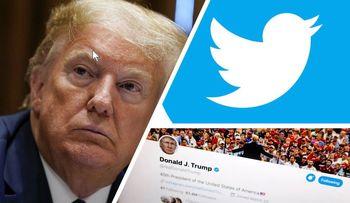 توییتر باز هم ترامپ را نقرهداغ کرد