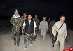 عکس های کمتر دیده شده سرلشکر سلیمانی در میدان نبرد + عکس